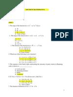 Discrete Mathematics Testbank With Anskey
