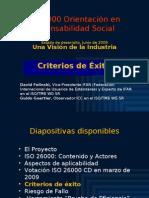 ISO 26000 (5) Criterios de Éxito 2009-06