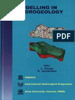 Modelling in Hydrogeology