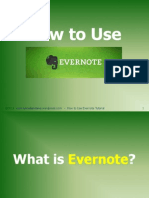 A Tutorial on How to Use Evernote