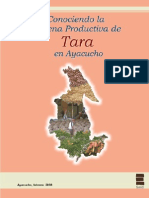 Cadena Productiva de Tara en Ayacucho, Febrero 2008
