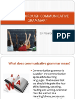 Getting Through Communicative Grammar