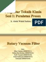 Ptk Ses i 1 Rotary Vacuum Filter