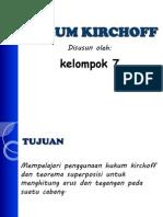 Presentasi Hukum Kirchoff