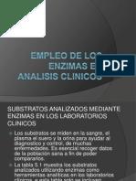 Empleo de Los Enzimas en Analisis Clinicos