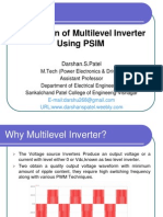 Multilevel Inverter Simulation Using Psim