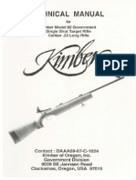 Kimber 82 Government Manual