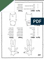 Needlework Pattern - 3 Pigs