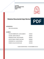 Reporte Final OYM ISO9001
