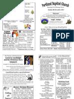 PBC Bulletin - December 8