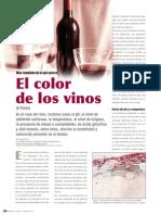 Color de Los Vinos