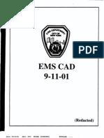 911 Ems Cad-logbook