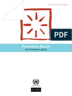 Cepal Panorama Social de América Latina 2013