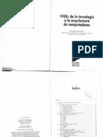 VHDL,De La Tecnologia a La Arquitectura de Computadores-Ed.sintesis-Jose Jaime Ruz Ortiz