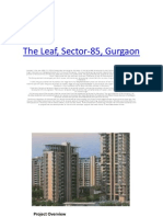 The LeBooking open for The leaf, sector 85, gurgaon by www.aurumestates.com