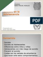 Suicidio en La Adolescencia