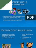 BENEFICIOS DE PLANEACION