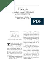 Kanajo- Prefacio Al Kokinshu
