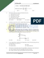 Ec 2009 Gate Paper