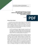 COX, Mark. Bibliografía anotada de la ficción narrativa peruana sobre la guerra interna de los años ochenta y noventa (con un estudio previo)