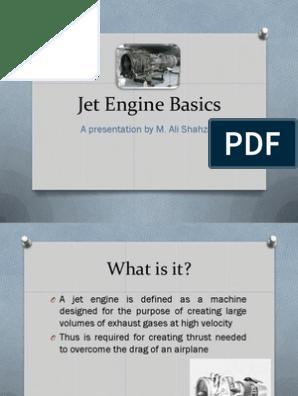 Jet Engine Basics pdf   Jet Engine   Engines