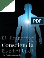 Book. El Despertar de La Consciencia Espiritual Pablo Morano B