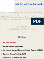 Adhoc Routing Protocols