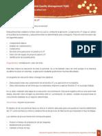 Características de las fases del JIT