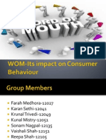 WOM-Its Impact on Consumer Behaviour (2)