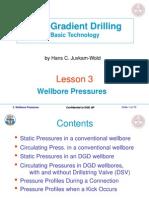 Lesson 3. Wellbore Pressures