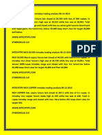 Mtechtips Gold Comex Daily Trading Report Daily 20-2-2013