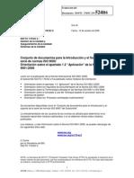 N524R6 Orientacion Sobre Apartado 1-22 Aplicacion en ISO 9001