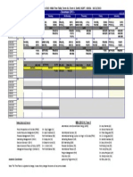 Revised Time Table for the Month of December-2013