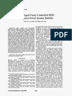 Fuzzy Logic Controld Sssc(Basic Sssc )