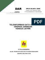 Teleinformasi Data Untuk Operasi Jaringan Tenaga Listrik Rev-36