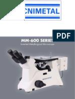 Microscopio Invertido in-MM600e