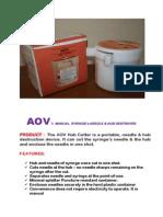 Aov Hub Cutter
