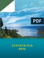 Statistik Ketenagalistrikan PLN 2012
