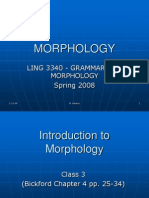 W Week2 Morphology