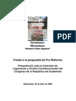 17. ASOCIACION COORDINADORA METROPOLITANA