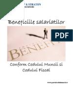 Beneficiile salariatilor