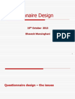 MET SEM3 6- Questionnaire Design Bhavesh