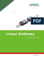 Hiwin Linear Guideway Catalog_G99TE13-0809