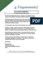 Site Licence Trigonometry