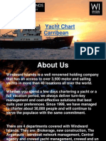 Yacht charter Caribbean for a magnificent holiday experience
