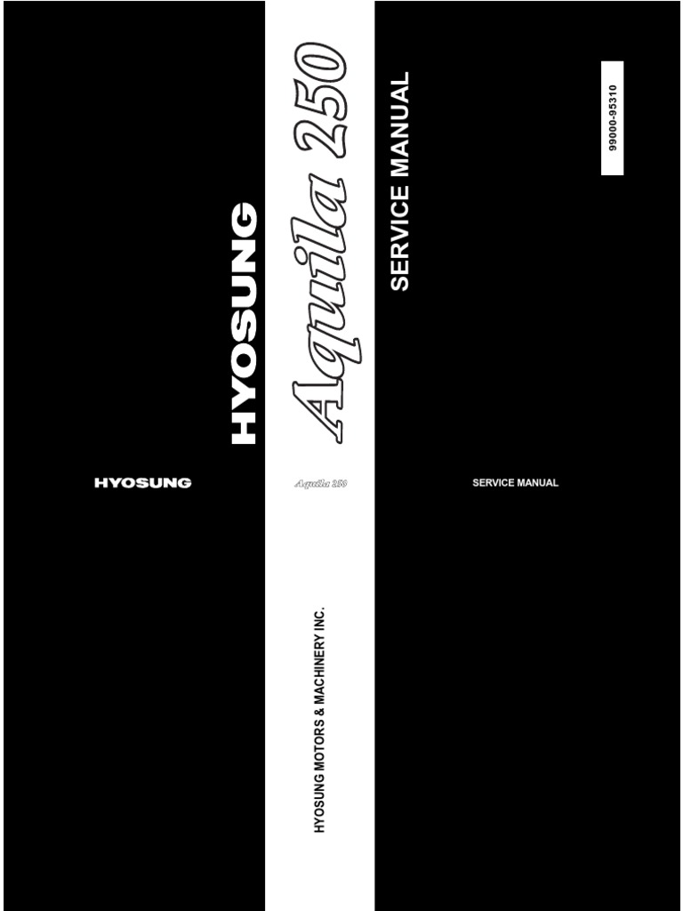 hyosung gv250
