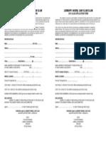 2014 Club Membership Form LMCC