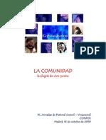 Conferencia Angel Pérez Pueyo -La alegría de vivir juntos-