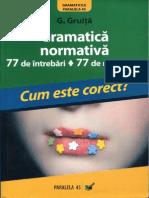 Gramatica normativa