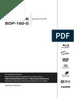 Pioneer BDP-150 manual